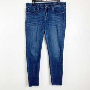 Vigoss Marley Super Skinny Mid Rise Denim Jeans